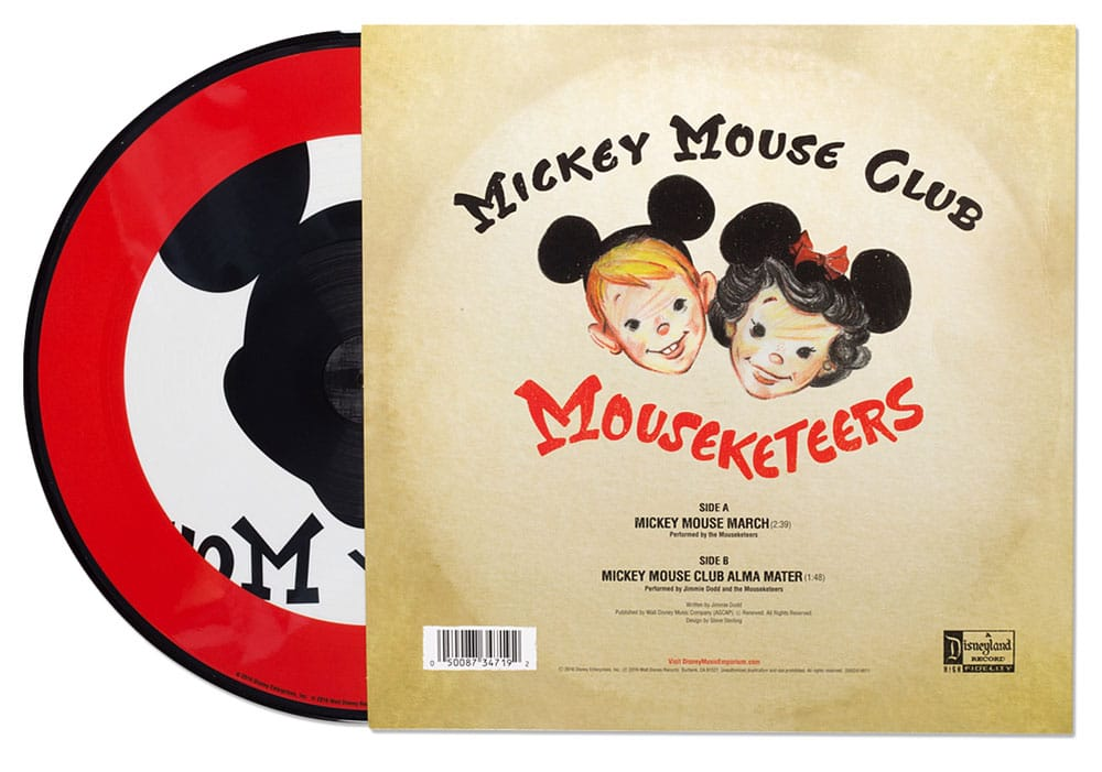 """review: limited edition """"mickey mouse club"""" picture disc! plus win"""