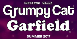 BOOM! and Dynamite Team-Up When 'Grumpy Cat' Meets 'Garfield'!