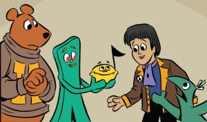 Paul and Gumby Reunite After 50 Years…In New Comic From Papercutz!