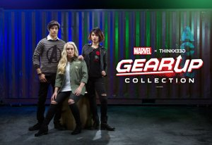 ThinkGeek Suits Up with Marvel for New Marvel x ThinkGeek Gear Up Clothing Line