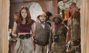 'Jumanji: Welcome to the Jungle' (review by Leyla Mikkelsen)