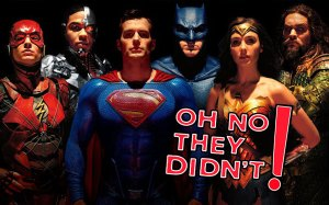 OH NO THEY DIDN'T! Podcast Episode 14: 'Justice League'