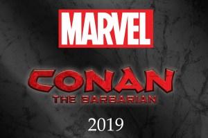 'Conan' Returns to Marvel Starting January 2019!
