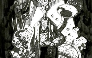 The Society of Illustrators Presents 'The Art of Mike Mignola: Hellboy and Other Curious Objects'