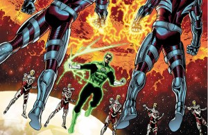 'Hal Jordan and the Green Lantern Corp #43' (review)