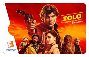 Win a 'Solo: A Star Wars Story' Fandango Bundle Giveaway
