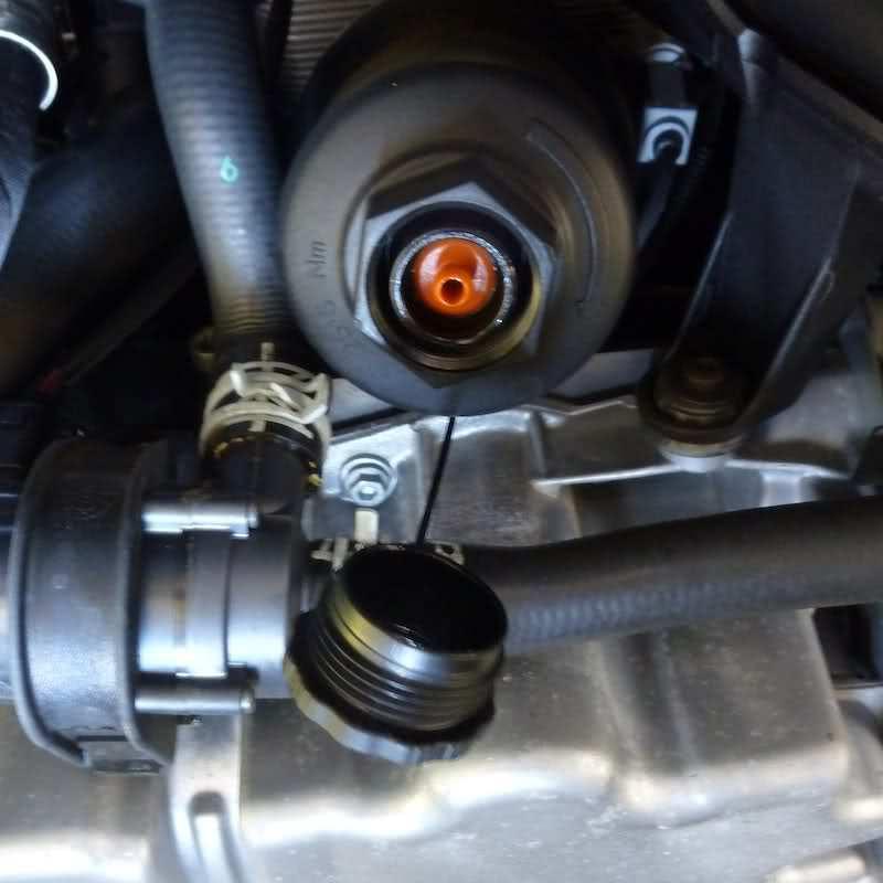 2015 Audi A3 Oil Filter Location