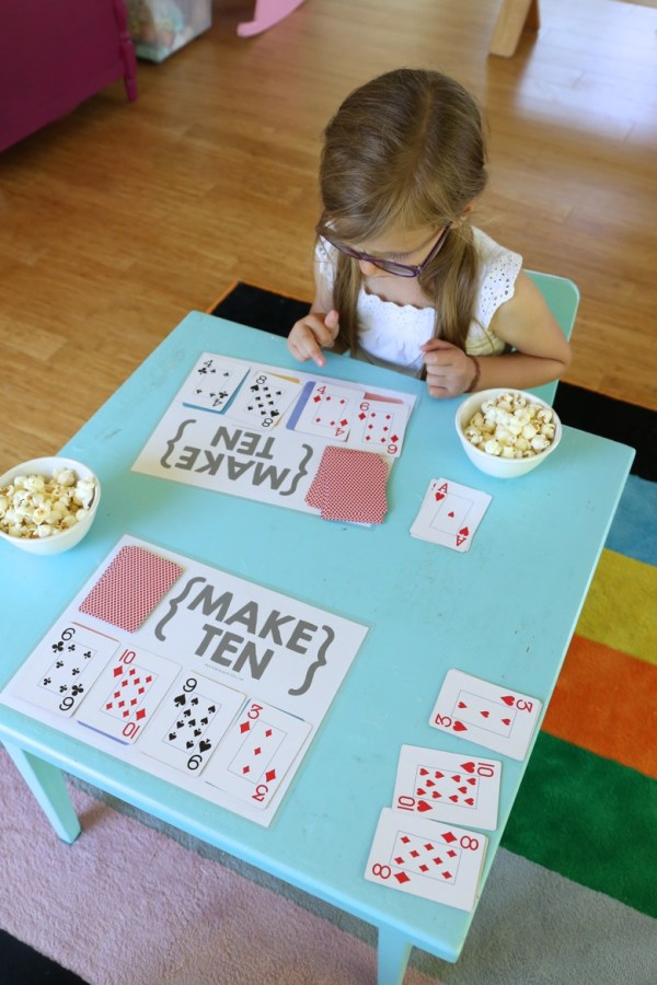 Make Poker Family Game And Teach Children Understand Forches Cross Primary