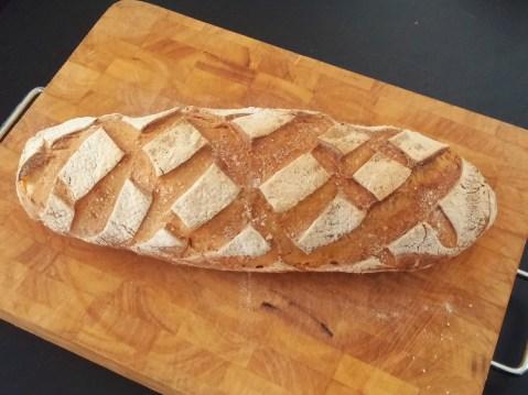 pane casalingo con pasta madre