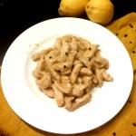 Pollo al limone e pepe nero