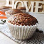 Muffin alla zucca, senza burro e olio