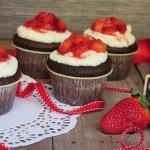 Cupcake cioccolato e fragole, storia d'amore