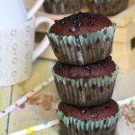 Muffin al cioccolato vegan
