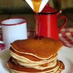 Pancakes con esubero di lievito madre