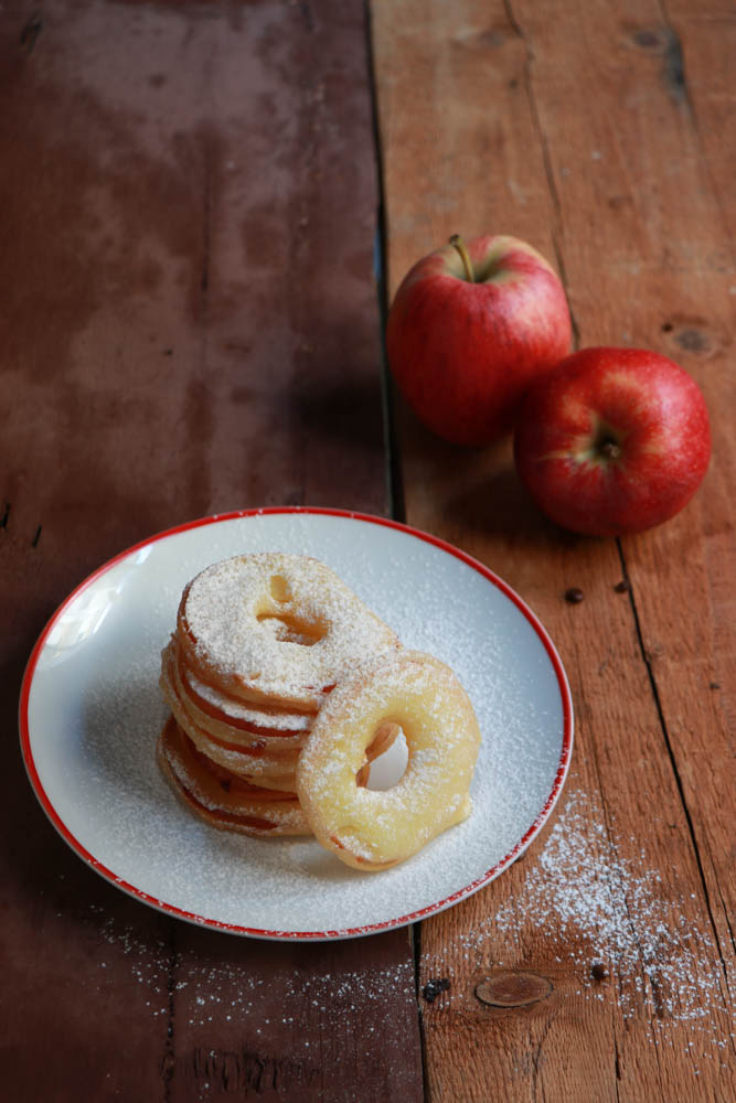 Frittelle Di Mele In Pastella Leggera Senza Uova E Zucchero Al Velo