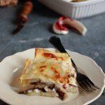Lasagna radicchio e pecorino