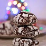 Crinkle Cookie, i biscotti al cioccolato e zucchero a velo