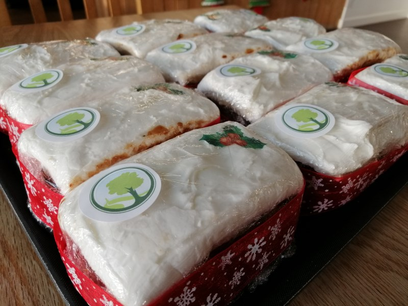 Christmas cakes now for sale at The Coach House @ Ford Park