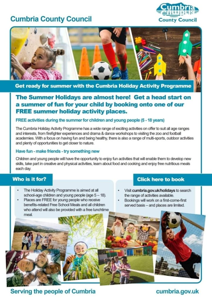 Join our summer holiday activity programme