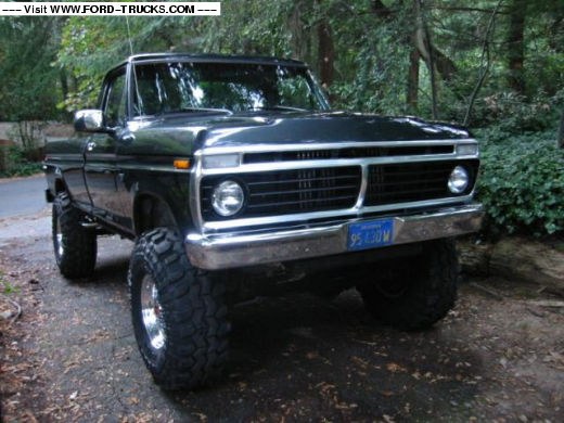 1974 Ford F250 4x4 74 F250 High Boy