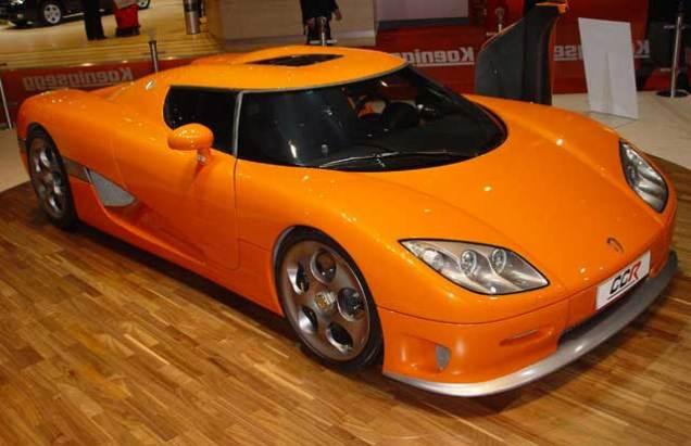Koenigsegg CCR (plus turbos)