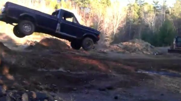 Cringe-Inducing Ford Jump