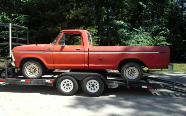 1977 Ford F-150 Build
