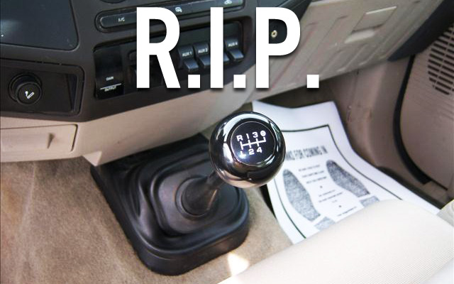 the manual transmission is dead and it s never coming back ever rh ford trucks com 2008 ford f250 diesel owners manual 2006 ford f350 diesel manual