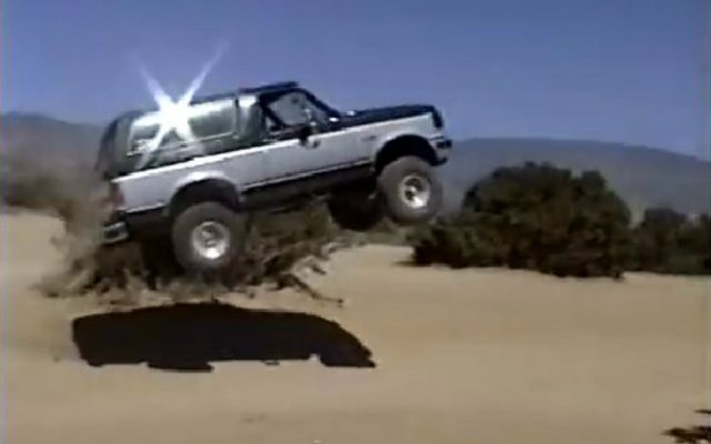 Ford Bronco Jump