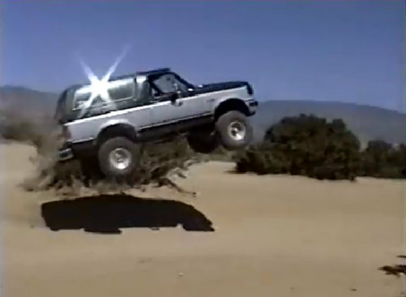 hump day jump see this awesome bronco jump and its not so awesome rh ford trucks com Black Ford Bronco 1969 Ford Bronco