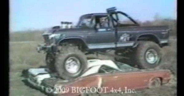 first bigfoot crush 600