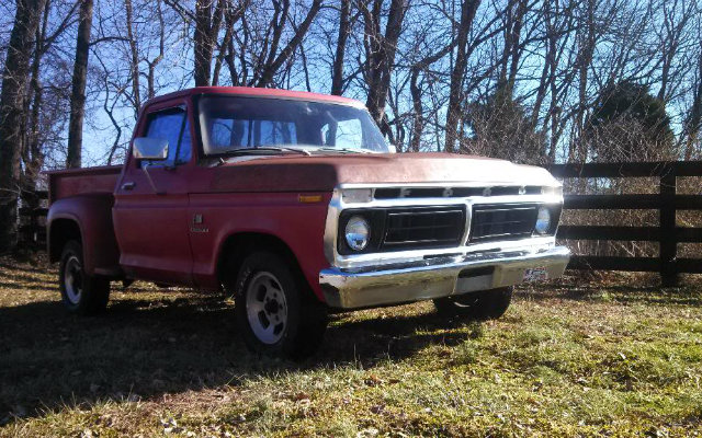 1976 Ford F-100 Build