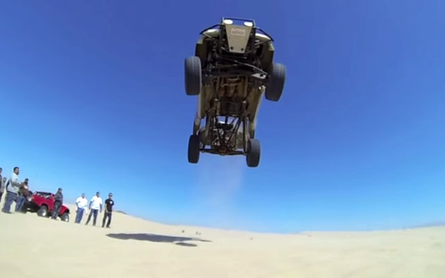 Ford Ranger Jumps at Pismo Beach