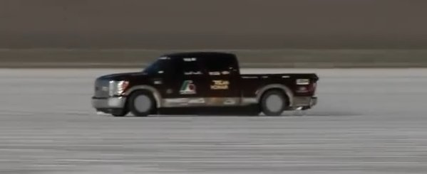land speed record f250 600
