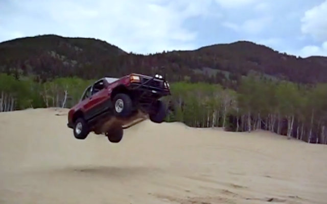 Ford Explorer Jumps