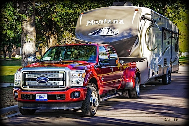 f-350 platinum road trip