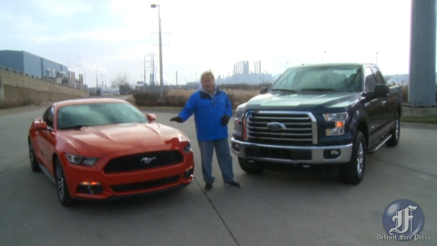 Ford Mustang and F-150