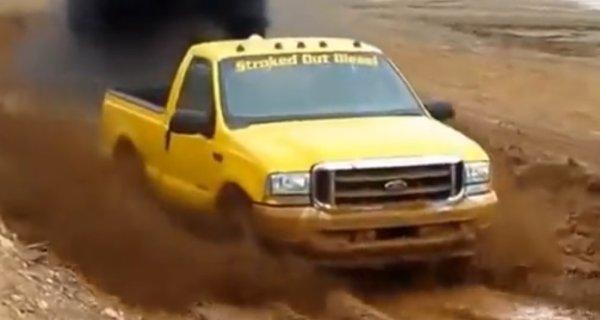 yellow diesel mud racer 600