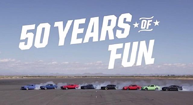 Mustang 50 Years