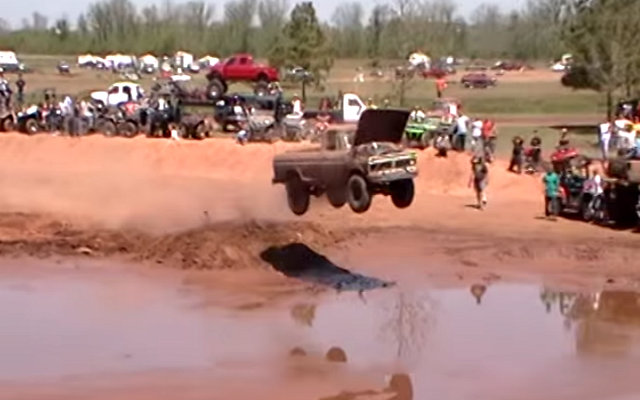 F-250 Jumps at LA Mudfest!