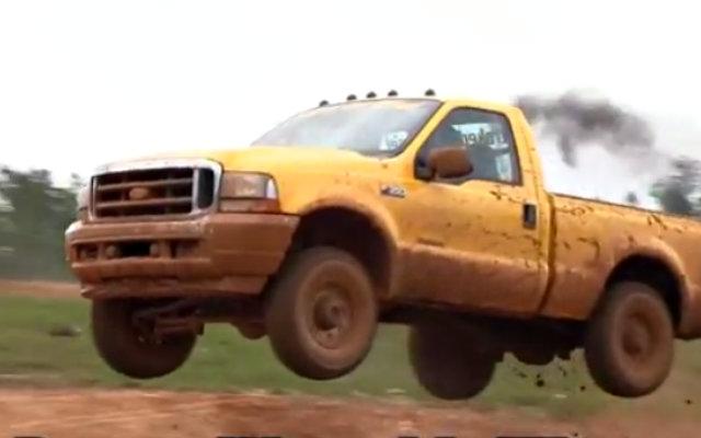 Ford Powerstroke Jump