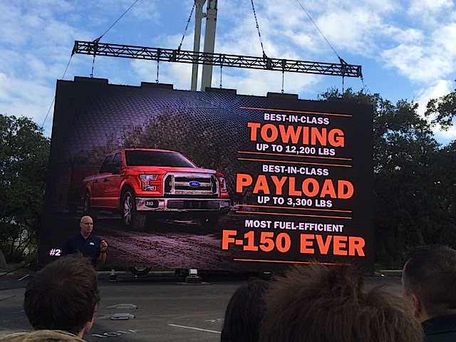 2015 F-150 Payload