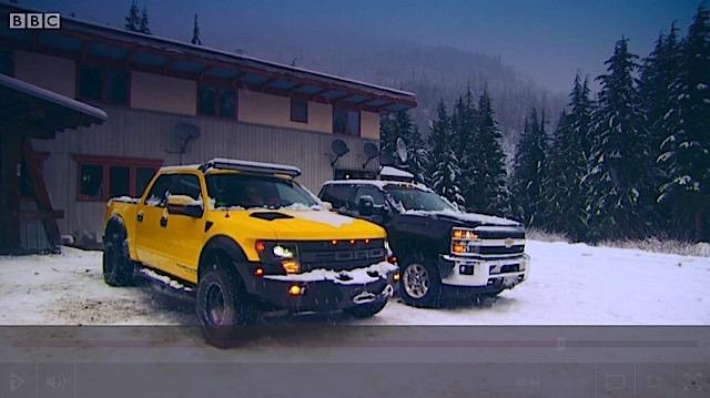 Top Gear Snow Trucks