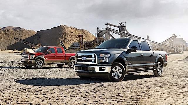 2015 Ford F-Series Super Duty and 2015 Ford F-150