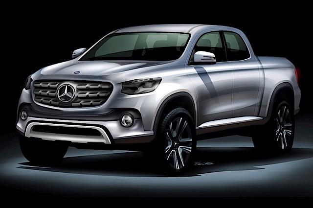 Mercedes-Benz-Pickup-Truck