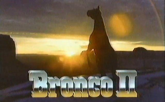 bronco ii 1984 ad