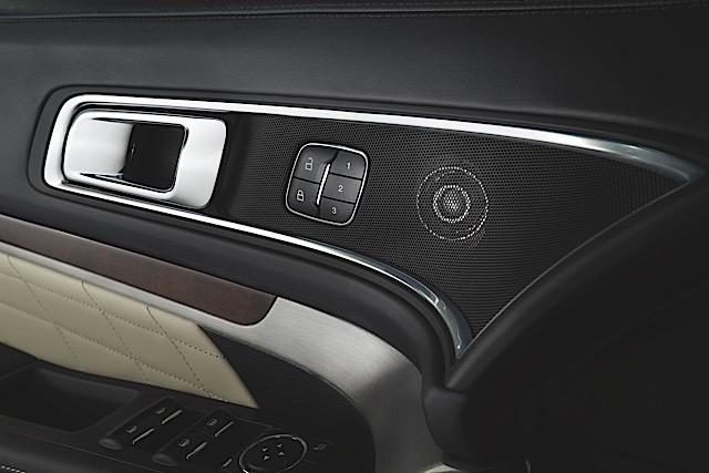 2016 Ford Explorer Platinum Premium Audio System