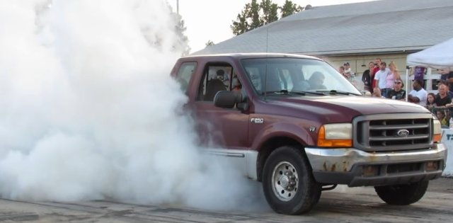 f250 burnout at gtc