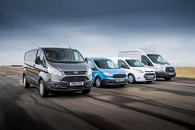 Ford Transit brand sales were second to Ford Fiesta in UK total vehicle sales in April