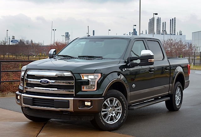2015 F-150 in Guard Green
